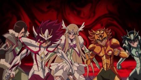 Kōga et ses amis en Shin Cloths.