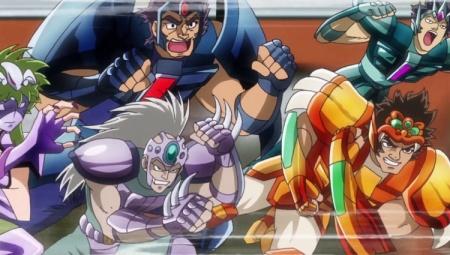 Geki, Ban et Nachi sont désormais équipés de Steel Cloths.